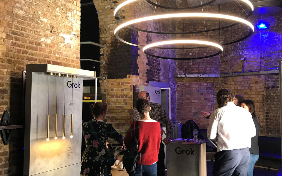 GROK EN CLERKENWELL DESIGN WEEK 2019