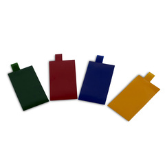 Coloured interchangeable filters